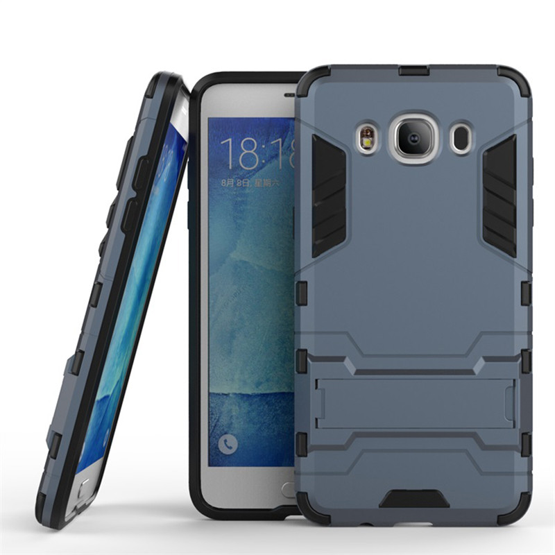 Чехол Samsung J510 / J5 2016 Hybrid Armored Case темно-синий