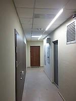 Лінійний світлодіодний світильник LS35,LS18 розсіяного світла. LED світильник. Світлодіодний світильник.