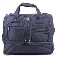Компактная сумка на колесах синего цвета  HP арт. D27321H