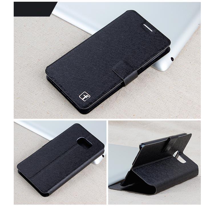 Чехол Samsung Note 5 / N920 книжка Flower Ultrathin черный