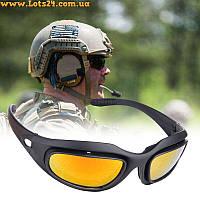 Daisy C5 - тактические защитные очки (4 пары линз в комплекте)