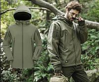 Тактическая куртка Softshell Esdy Shark Skin. Оригинал. Олива, фото 1