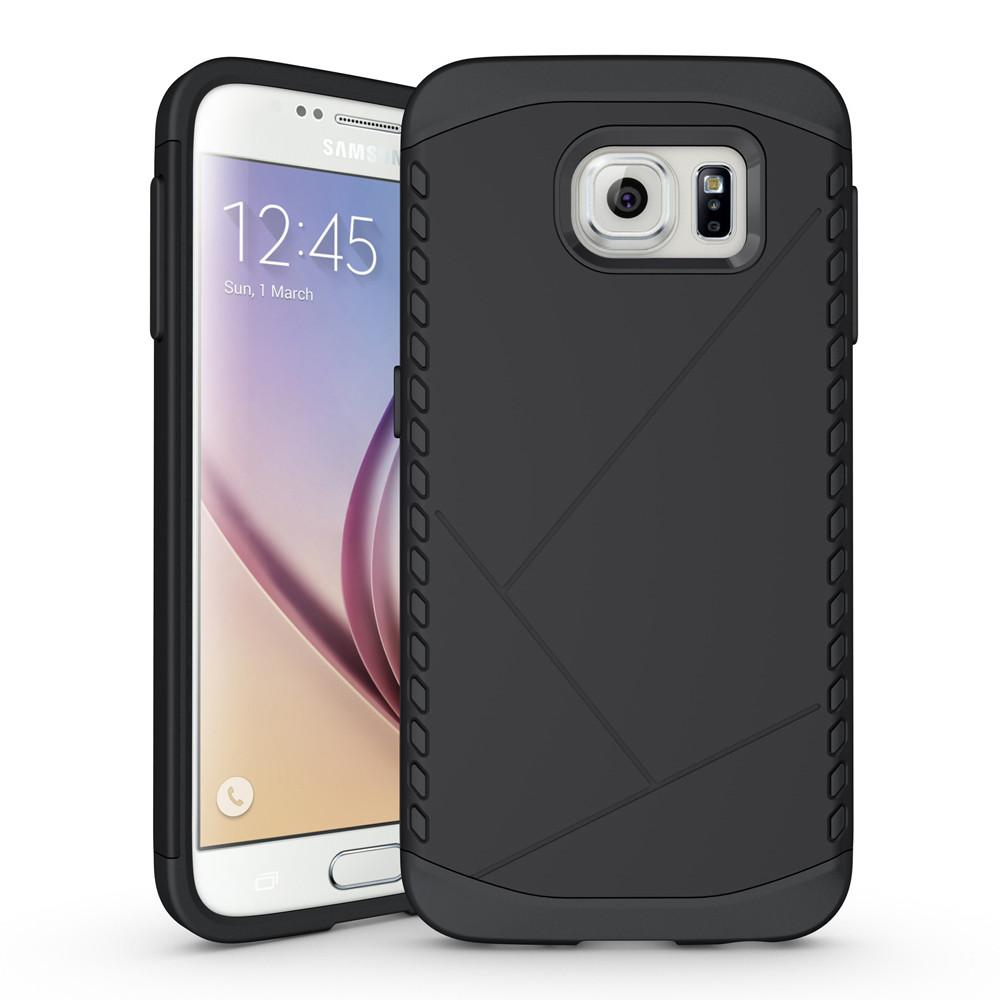 Чехол Samsung S6 edge / G925 бампер Armor Shield черный