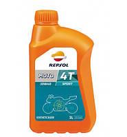 Моторное масло Repsol Moto Sport 4T 10W40 (1л)