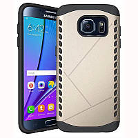 Чехол Samsung S7 / G930 бампер Armor Shield золотистый