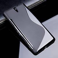 Чехол Sony C5 / C5 Ultra / E5533 силикон TPU S-LINE черный