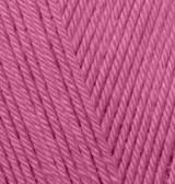 Пряжа Alize Diva темная фуксия №130 летняя для ручного вязания