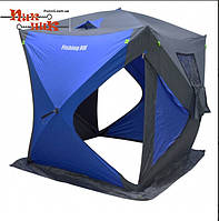 Зимняя палатка Куб 1 для рыбалки зонтичного типа 150х150х165 см