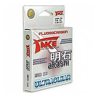 Леска Lineaeffe Take AKASHI Fluorocarbon  50м. 0.12мм  FishTest 2.55кг  Made in Japan