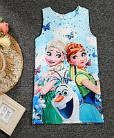 Платье детское Фрозен, фото 1