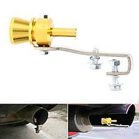 Турбо-звук - имитатор турбины (насадка турбо свисток в глушитель на выхлопную трубу)