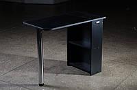 Стол для маникюра, раскладной, черный