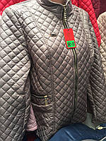 Куртка женская стеганая демисезонная на замке