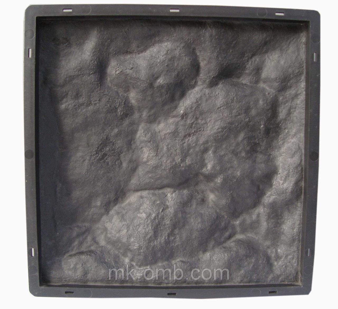 Форма для производства  фасадной плитки «Рваный Камень №1»