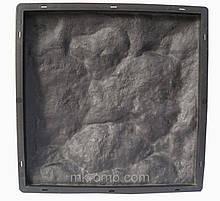 Форма для виробництва фасадної плитки «Рваний Камінь №1»