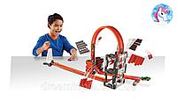 Трек Хот Вилс Ударная волна Hot Wheels Construction Crash kit Builder track
