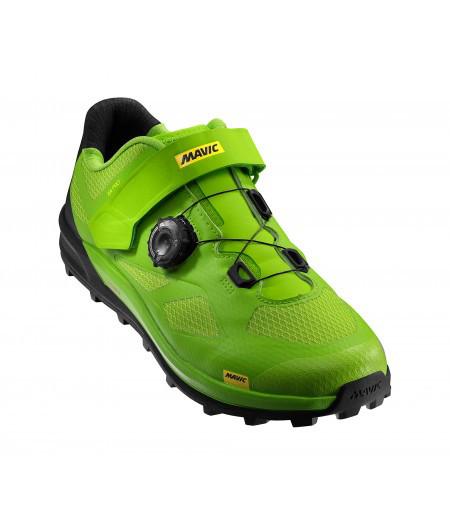 Обувь Mavic XA PRO размер UK 8 (42, 265мм) Lime Green/Pirate Black салатово-черная