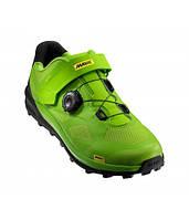 Обувь Mavic XA PRO размер UK 9 (43 1/3, 274мм) Lime Green/Pirate Black салатово-черная