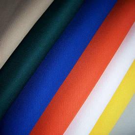 Ткань Саржа - темно-синяя темно синего цвета плотность 200-240 (Саржа темно синя кольори)
