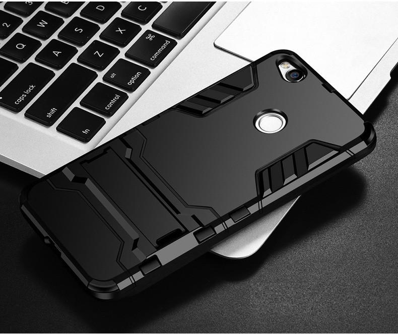 Чехол Xiaomi Redmi 4X / Redmi 4X Pro Hybrid Armored Case черный