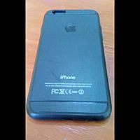 Чехол iphone 6/6s силикон черный (Уценка)