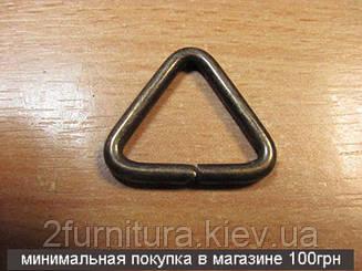 Треугольники для сумок (20мм) антик, 30шт 4366