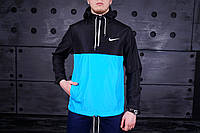Весенняя мужская куртка анорак найк (Nike) реплика