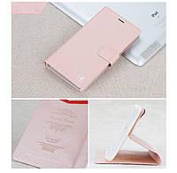 Чехол Xiaomi Redmi Note 3 / Note 3 Pro / Note 3 Pro Prime книжка Flower Ultrathin розовое золото