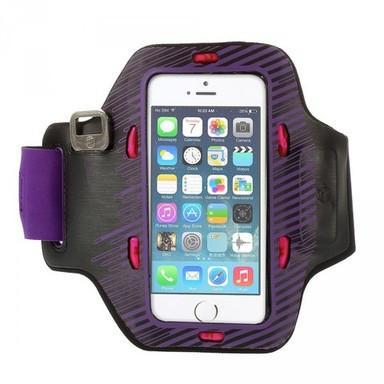 Неопреновый спортивный чехол на руку с подсветкой для Apple iPhone 5/5