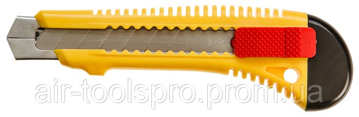 Нож с отламывающимся лезвием, 18 мм, TOPEX