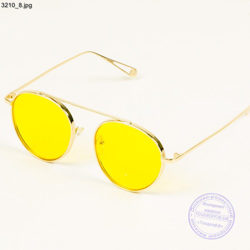 eb8608bcf192 Очки солнцезащитные золотистые с желтыми линзами - 3210 2 - Интернет  магазин Товарофф в Хмельницком