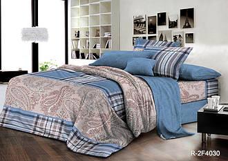 Двуспальный комплект постельного белья 180*220 из ранфорса Араш