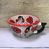 Чашка керамическая 100% ручная работа 0,5 л (68)