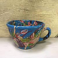 Чашка керамическая 100% ручная работа 0,5 л (69)