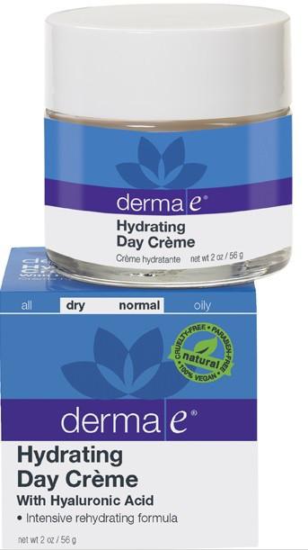 Зволожуючий денний крем з гіалуронової кислотою *Derma E (США)*
