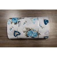Ткань ранфорс Турция - Rachel бирюзовый 95536 (220 ширина)