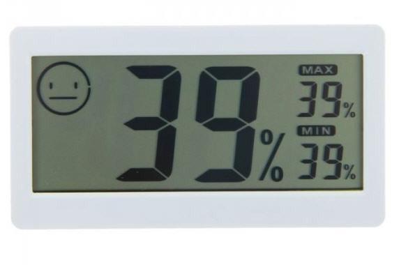 Кімнатний термометр, гігрометр DC-206