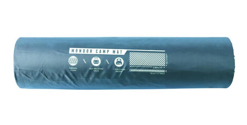 Самонадувной коврик 68056 Bestway Mondor Camp Mat каремат для пикника кемпинга, фото 2