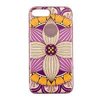 Чехол силиконовый Aspor Mask Орхидея для iPhone 7 Plus