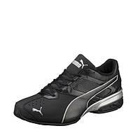 Кроссовки мужские Puma Tazon 6 FM 189873 03 (черные, для тренировок, с перфорацией, закрытые, бренд пума), фото 1