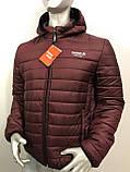 Мужская демисезонная куртка Reebok копия , фото 2
