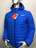 Мужская демисезонная куртка Reebok копия , фото 3