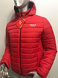 Мужская демисезонная куртка Reebok копия , фото 4