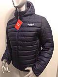 Мужская демисезонная куртка Reebok копия , фото 5