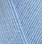 Пряжа Alize Diva светло-голубой №350 летняя для ручного вязания
