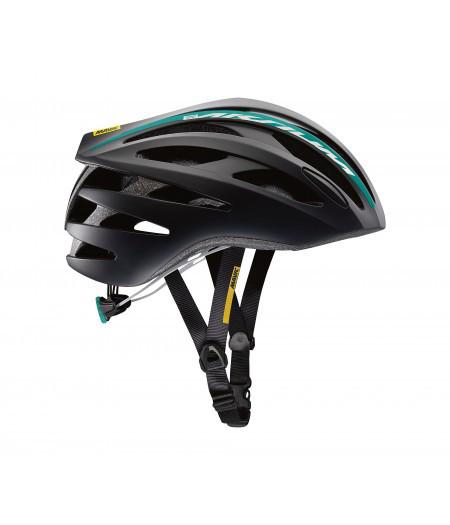 Шлем Mavic AKSIUM ELITE W размер S (51-56см) Black/BL черно-синий