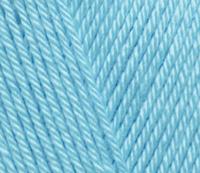 Пряжа Alize Diva темно бирюзовый №346 летняя для ручного вязания