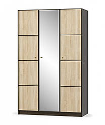 "Шкаф ""Фантазия""  3Д с зеркалом .Мебель Сервис."