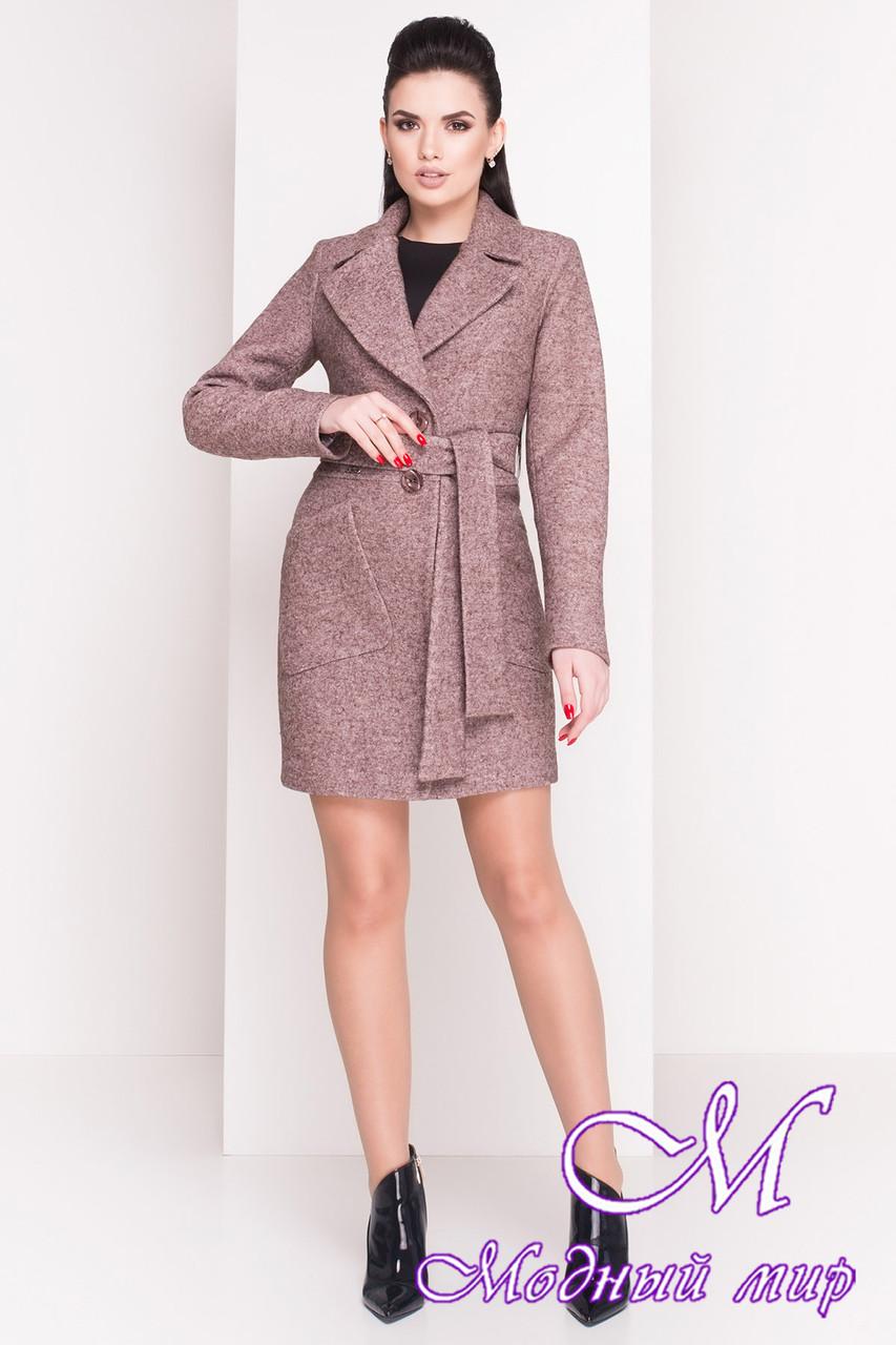 Красивое женское демисезонное пальто (р. S, M, L) арт. Габриэлла 4419 - 21440