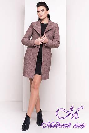 Красивое женское демисезонное пальто (р. S, M, L) арт. Габриэлла 4419 - 21440, фото 2